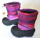 Columbia Powderbug Forty Print Girls BC1325-581 Razzle Boots Toddler's Size 8, 9
