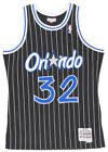 Mitchell and Ness Shaquille Oneal Orlando Magic Swingman Jersey NBA Mens Black