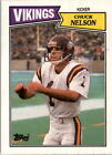 1987 Topps Football Cards 199-396 +Rookies - You Pick - Buy 10+ cards FREE SHIP