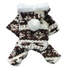 Winter Sweet Doggies Warm Hooded Clothes Costume Outfits For Pet Dog