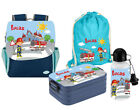 SET Kindergartenrucksack Happy Knirps® NEXT Print mit Name Motiv Kinderrucksack