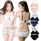 Padded Embroidered Bra Panties Set Panty Sets Underwire Push Up Briefs Underwear