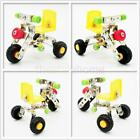 MagiDeal Assembly Metal Truck Vehicles Model kits Toy Car Building Play for Kids