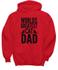 Cat Dad Tee - Perfect Fun Gift For A Crazy, Funny Cat Daddy - Pet Owners And Kit