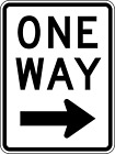 ***RIGHT ONE WAY VINLY HIGHWAY DECAL STICKER MULTIPLE SIZES TO CHOOSE FROM***