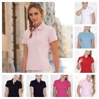 Fruit of the Loom Lady Fit Cotton Piqu Polo Shirt Womens Classic Pique Premium