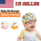 Baby Toddler Safety Adjustable Helmet Soft Headguard Cap Protective Walk Hat