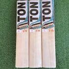 SS TON PLAYER EDITION ENGLISH WILLOW BAT SIZE 4 Oval handle + Lots of Extras