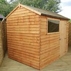 Mercia Wooden Overlap Reverse 6x4/ 8x6 /10x6 Apex Shed. From Argos on ebay