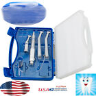 Dental High  Slow Low Speed Handpiece kit EX 203C 2 Hole Turbine FIT NSK+case
