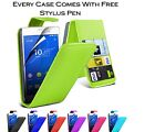 Magnetic Wallet Flip ID Card Holder Pu Leather Case Cover For Sony Xperia X Z