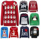 Unisex Christmas Jumper £5 Everything SALE Knitted Xmas Tops Party Gift