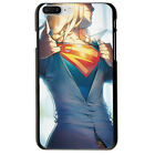Supergirl Super Hero Pattern Soft TPU Case Cover For iphone 7 Plus 8 6S XS Max