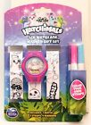 LCD Watch  Marker Gift Set Color Your Own Watch 3 Straps 4 Markers -5 Varieties