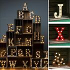 12'' Marquee LED Letter Light Vintage Alphabet Circus Style Light Up Sign White