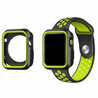 Rugged Protective Ultra Slim Shock Resistant TPU Bumper Case  for Apple iWatch