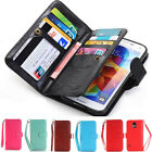 For Samsung Galaxy Note 8 S8 S7 Plus Case Cover Card Wallet Flip Leather Stand