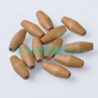 10~50pcs 10X24mm Oval Wood Spacer Wooden Loose Beads DIY Jewelry Findings