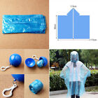 Lovely Portable Outdoor Disposable Raincoat Ball For Tourism Emergency Raincoat