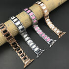 1* Watch Metal Wrist Bracelet Metal Clasp Band For Apple Watch iWatch 38mm/42mm.