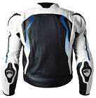 BMW Motorcycle Leather Jacket Racing Motorbike Cowhide Leather Jacket Armors