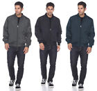 Men's Vintage Plus Size Light Weight Bomber Jacket Flight Military Air Force