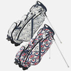 """Callaway 9.5"""" Style Roundel Stand Bag Limited Edition Stylish Caddy E_n"""