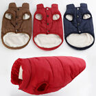 Stylish Pet Dog Winter Soft Warm Coat Sweater Puppy Fleece Vest Jacket Clothes A
