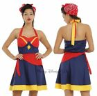 New Her Universe Women Of Marvel Captain Marvel Cosplay Halter Dress JRS XS-M
