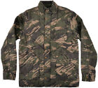 Grizzly Griptape Storm Camouflage Jacket Quilted Mens