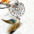 Silver Feather Handmade Dream Catcher Car Home Wall Door Hanging Ornaments~