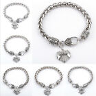 MOM SISTER MIMI Family Members Position Love Heart Charm Bracelet Accessories