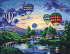 DIY Street Scenery Acrylic Paint By Number Kit Oil Painting Wall Decor On Canvas