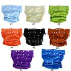 Adjustable Teen/Adult Cloth Diaper Reusable Absorbent Incontinence Pants Nappy H