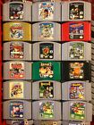 N64 Nintendo 64 VIDEO Games Alphabetically N Through Z Some Complete in box