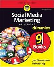 Social Media Marketing All-In-One For Dummies 4 the Edition  Free Shipping