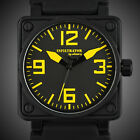 INFANTRY INFILTRATOR MENS ANALOG WRIST WATCH SQUARE FASHION SPORT ARMY RUBBER