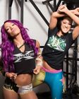 Sasha Banks & Bayley WWE D-Generation X Photo 4x6 8x10 (Select Size) #023