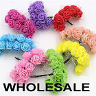 Foam Mini Roses WHOLESALE Head Buds Small Flowers Wedding Home Party Decoration