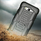 For Samsung Galaxy J7 Neo Shockproof Armor Stand Rugged Hard Case + Holster Clip