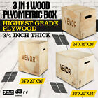 3 in 1 Wood Plyometric Box for Jump and Training Strength Plyo Exercise Fit Plyo image