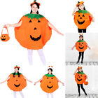 Fancy New Set Dress Pumpkin Fashion Kids Party Costume Outfit Clothes Halloween