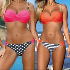 Fashion Women Beach Swimwear Bikini Top Beachwear Set Summer Sexy Padded Bra