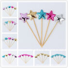 10PCS Baby Birthday Cute Cupcake Toppers Cake Party Wedding Festival Decor Tools