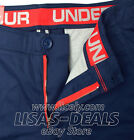 New Men's Under Armour Performance Chino Golf Shorts MSRP 69.99 Navy 30 34 38