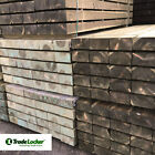 Railway Sleepers GREEN 2.4m 100 x 200mm - Landscaping - FREE DELIVERY