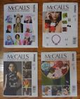 McCall's FASHION ACCESSORIES Sewing Patterns  NEW! UNCUT! You Pick! $3 Ea.