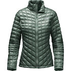 North Face Women's spruce green Thermoball Jacket Small