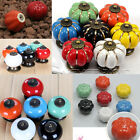 Vintage Ceramic Door Knobs Cabinet Drawer Cupboard Kitchen Retro Pull Handle HOT