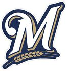 Milwaukee Brewers Fan Vinyl Sticker Decal *MANY SIZES* Bumper Cornhole Truck Car on Ebay